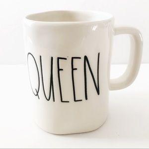 Rae Dunn Artisan Collection QUEEN Coffee Mug